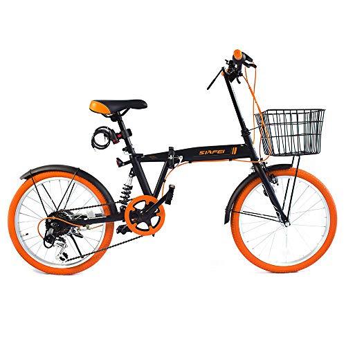 LUCK store 折りたたみ自転車 B07FLWGVVH 1枚目