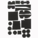 KINMEI ランドクルーザー プラド 150系 白 専用設計 インテリア ドアポケット マット ドリンクホルダー 滑り止め ノンスリップ 収納スペース保護 ゴムラバーマット