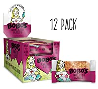 Bobo's Oat Bars All Natural, Gluten Free Peanut Butter and Jelly, 3 oz Bars, Pack of 12 by Bobo's Oat Bars