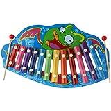 P Prettyia 12トーン 木琴 ピアノ ミュージカルおもちゃ 知恵開発 木のおもちゃ