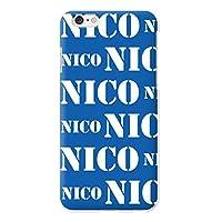 Huawei Mate10 Pro ハードケース スマホケース スマートフォン カバー プリント 印刷 ブルー 青 ロゴ NICO