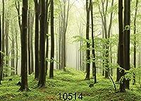GooEoo 7 x 5フィートバージンフォレストシンビニールカスタマイズされた背景CP写真プロップ写真の背景10514a