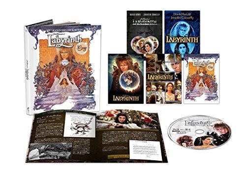 ラビリンス 魔王の迷宮 30周年アニバーサリー・エディション ブルーレイ(初回生産限定) [Blu-ray]