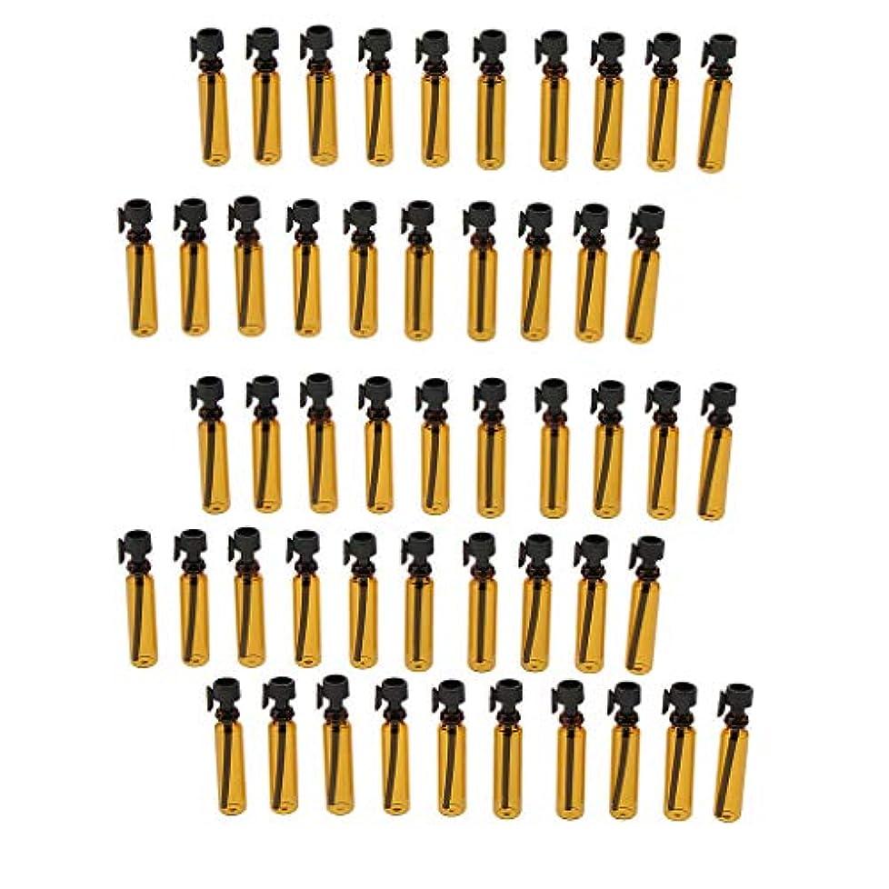 Sharplace 約50個 ミニ 1ml 化粧品ボトル サンプルボトル