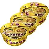 マルちゃん正麺 カップ 旨こく豚骨醤油 113g×3個