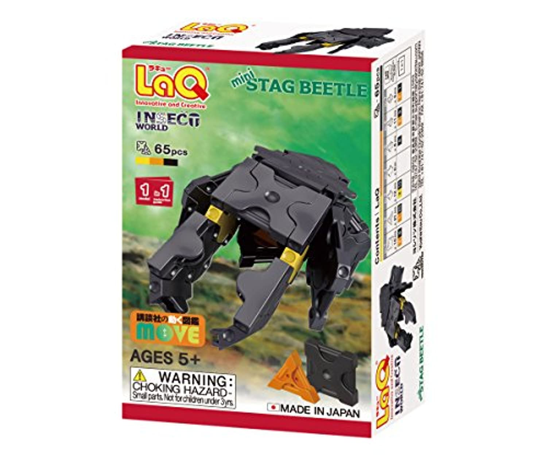 ラキュー (LaQ) インセクトワールド(InsectWorld) ミニクワガタムシ