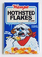 "STAR WARS "" hothsted Flakes Cereal Box ""冷蔵庫マグネット( 2 x 3インチ)"