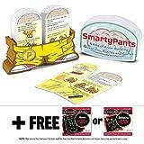 Preschool Smarty Pantsカードゲームセット+ Free Melissa & Doug Scratchアートmini-padバンドル[ 50708 ]