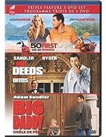 50 First Dates/Mr. Deeds/Big Daddy【DVD】 [並行輸入品]
