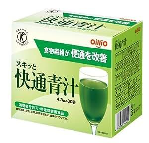 日清オイリオ スキッと快通青汁 4.3g*30袋 [おなかの調子]
