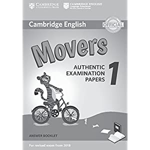 Cambridge English Movers 1 for Revised Exam from 2018 Answer Booklet: Authentic Examination Papers (Cambridge Young Learners Engli)