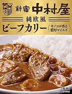 中村屋 純欧風ビーフカリー キノコが香る濃厚マイルド 180g ×5個