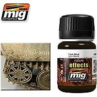 AmmoのMig Jimenez Dark Mud 35 ml # 1405