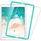 2018 / 2017 新型 ESR iPad Pro 9.7 / Air2 / Air / The New iPad 9.7インチ用 フィルム 日本製素材旭硝子製 三倍強化 0.3mm 液晶保護フィルム 貼り枠付き ライフタイム保証 硬度9H 気泡自動排除 スクラッチ 指紋防止
