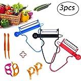 Magic Trio Peeler Slicer Shredder Multifunction Vegetable Fruit Potato Cutter Kitchen Tools