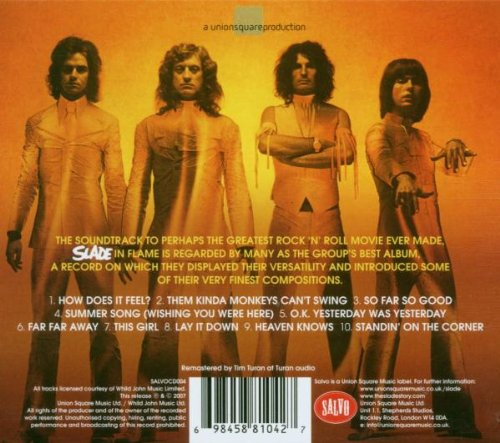 SLADE IN FLAME (IMPORT)