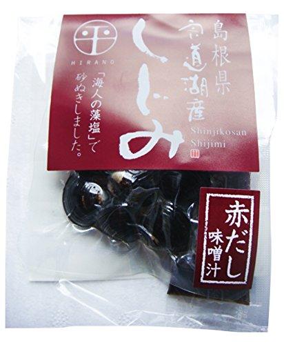 島根県(宍道湖産)大和しじみ使用即席しじみ汁(赤だし味噌)