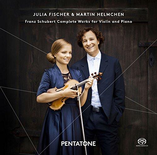 シューベルト : ヴァイオリンとピアノのための作品全集 (Franz Schubert : Complete Works for Violin and Piano / Julia Fischer & Martin Helmchen) (2SACD Hybrid) [輸入盤・日本語解説付]