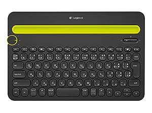 Logicool ロジクール K480BK Bluetooth ワイヤレス キーボード マルチOS:Windows Mac iOS Android Chrome OS 対応