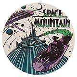 Disney Space Mountain Coaster