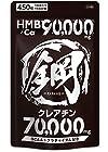 【タイムセール】 HMB サプリメント 鋼 HMB90,000mg クレアチン70,000mg BCAA 計160,000mg超の成分配合 大容量450粒が激安特価!