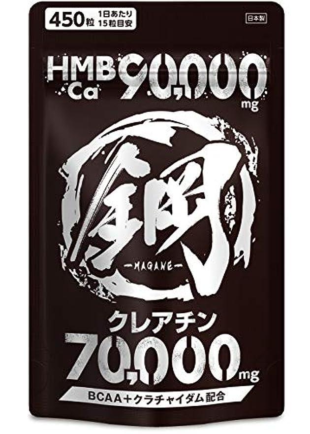 一生消化器くしゃみHMB サプリメント 鋼 HMB90,000mg クレアチン70,000mg BCAA 計160,000mg超の成分配合 大容量450粒
