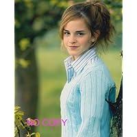 SP:大きな写真、エマ?ワトソン、木立の中の微笑