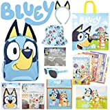 Bluey Showbag Kids Gift Pack with Backpack Cooler Bag Colouring Pages Toys Stickers – Show Bag for Birthday Christmas Easter Girls Boys Gift Idea