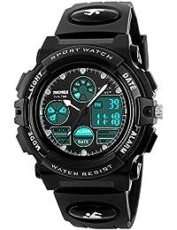 SKMEI 腕時計 キッズ ブラック