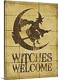 "Stephanie Marrottプレミアムシックラップキャンバス壁アート印刷題名Witches Welcome 30"" x 40"" 2389423_24_30x40_none"