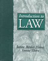 Introduction to Law (Prentice Hall Paralegal Series)