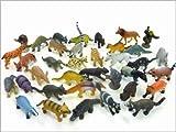 動物園のなかまたちフィギュア◇小動物や珍獣など36種類セット