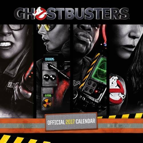 Ghostbusters Movie Official 2017 Square Calendar (Calendar 2017)