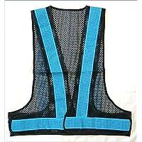 0867d297c5241 Amazon.co.jp: 水色 - 安全ベスト・反射ベスト / 安全・保護用品: 産業 ...