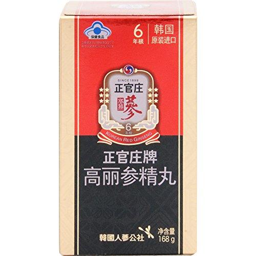 Ginseng Corporation 韓国紅参ブランド『正官庄』(6年高麗人参)紅参精丸168g(800丸入り)