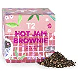 T2 Tea Hot Jam Brownie Feature Cube, Loose Leaf Black Tea in a Box, 120 g