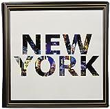 アートデリ ポスター パネル ニューヨーク 30cm × 30cm 日本製 軽量 ファブリック popa-1712-08-01