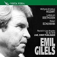 Emil Gilels. Recital in Los-Angeles 23.10.1979