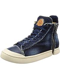 (ディーゼル) DIESEL ZIP-ROUND S-NENTISH - sneaker mid Y01656P1250