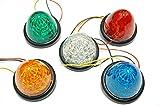 選べる5色 LED 16 発 サイド バス マーカー ライト ランプ 【ADVANTAGE】 トラック 用 24V 車 に