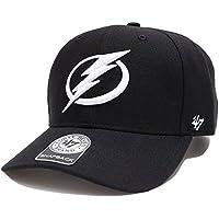 【H-SRS23WBP-B】 フォーティーセブンブランド 47BRAND キャップ CAP 帽子 アイフホッケー NHL ナショナルホッケーリーグ タンパベイ ライトニング 正規品