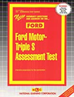 Ford M - Triple s Assessment Test (Ford (Admission Test Series)