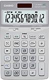 CASIO ジャスト型デザイン電卓 JF-A200-WE-N グレースホワイト 12桁