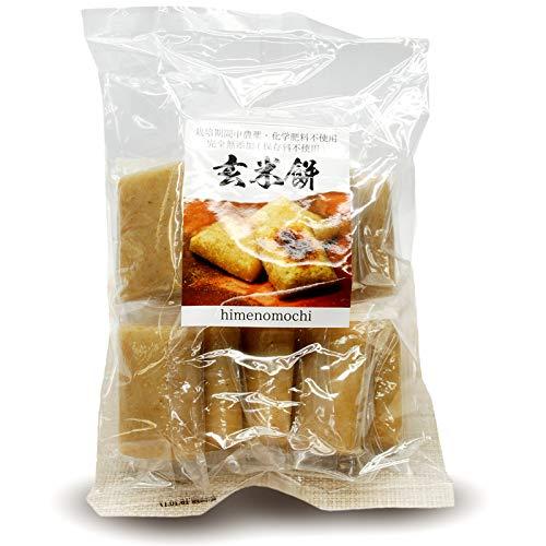 無農薬・無添加 の玄米切餅 10枚入×1袋 【GI値37-低GI食品】