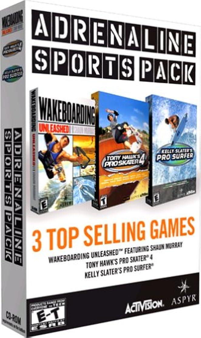 売り手拒否スピンAdrenaline Sports Pack (輸入版)