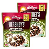 【Amazon.co.jp限定】 ケロッグ ハーシーチョコビッツ 抹茶ホワイトチョコレート 280gx2袋セット