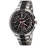 [ブライツ]BRIGHTZ 腕時計 BRIGHTZ ソーラー電波 スポーティライン カーボン調黒文字盤 チタンモデル サファイアガラス SAGA259 メンズ