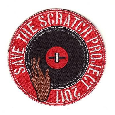 SAVE THE SCRATCH PROJECT 2011 パッチ・エンブレム・ワッペン
