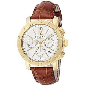 [ブルガリ]BVLGARI 腕時計 ブルガリブルガリ ホワイト文字盤 自動巻 クロノグラフ BB42WGLDCH メンズ 【並行輸入品】