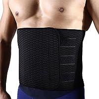男性用シェイプアップベルト お腹引き締め 減量用 発汗ダイエットベルト運動用 腰サポーター 腰痛 コルセット腰痛緩和 腰椎固定 腰 保護  スポーツ